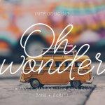Oh Wonder Duo Font Free
