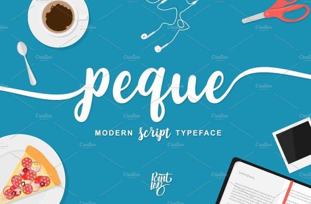 Peque Script Font Free