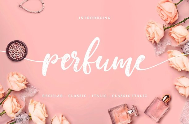 Perfume Classic Script Font Free
