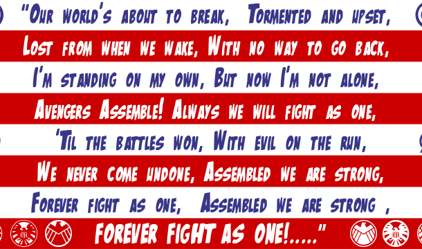 The Mighty Avengers Font Free