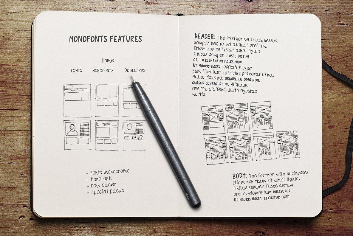 quaderno-bianco-font-family-2