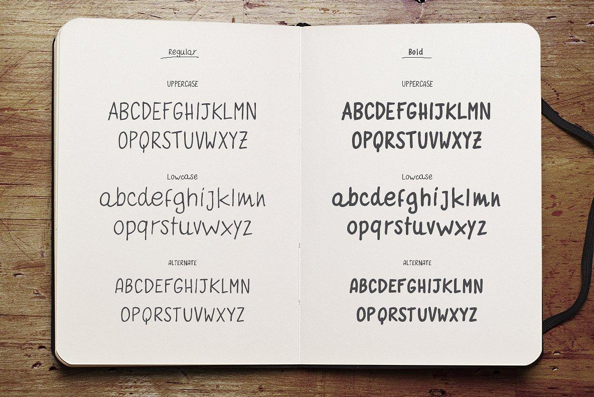 quaderno-bianco-font-family-3