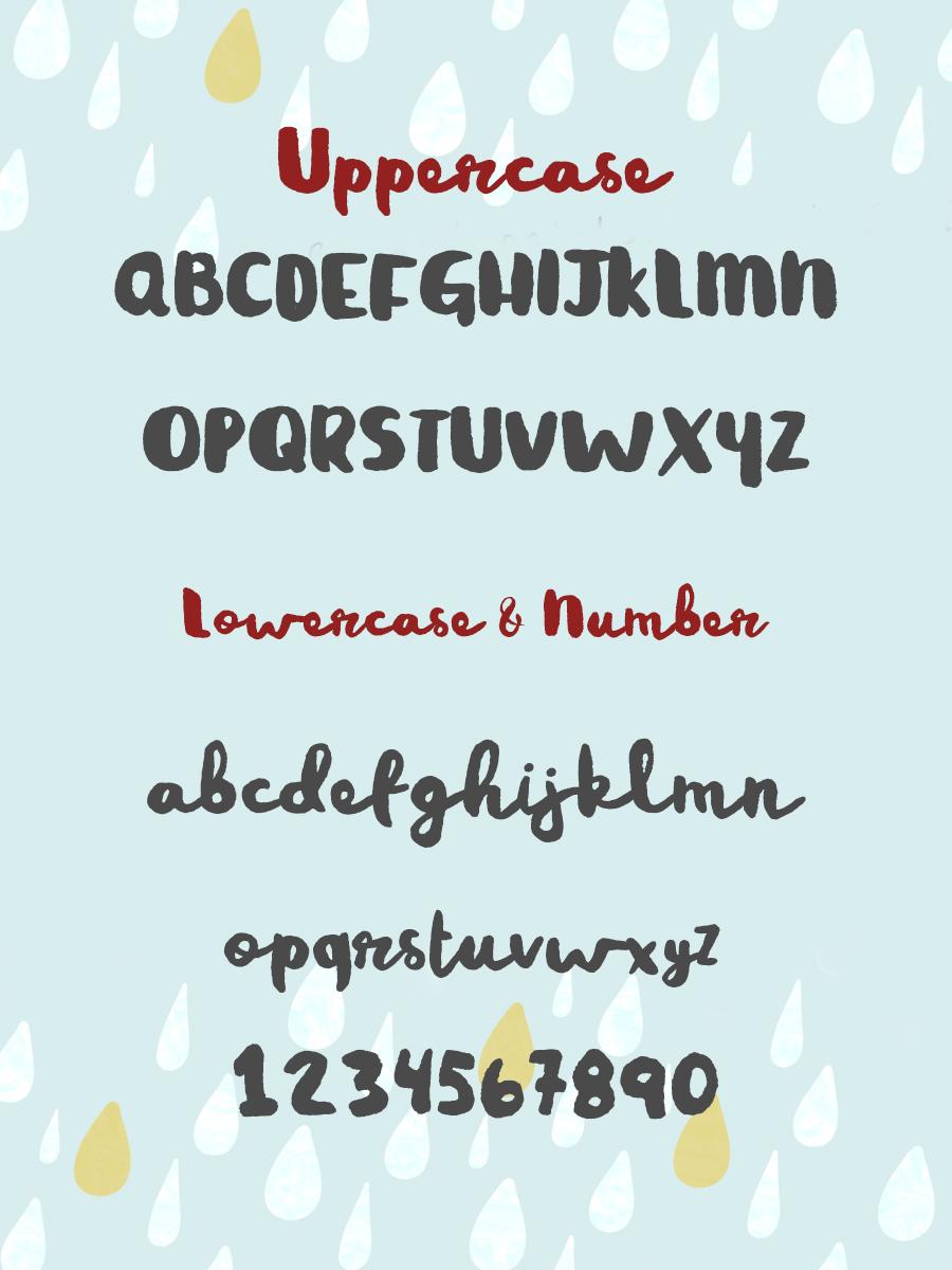 rainy-day-font-1