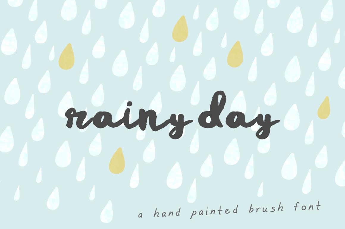 rainy-day-font