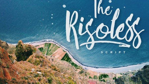 Risoless Script Font Free