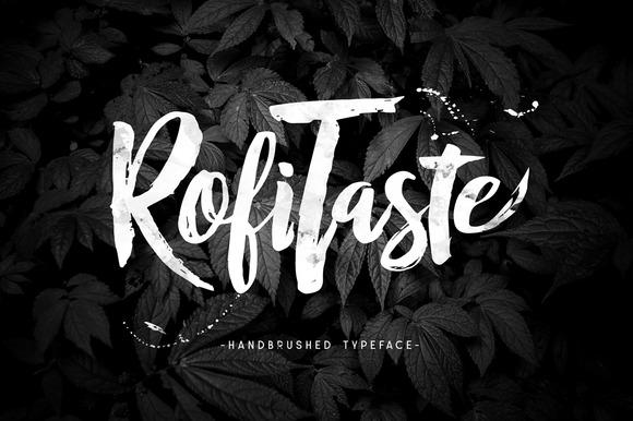 rofitaste-typeface