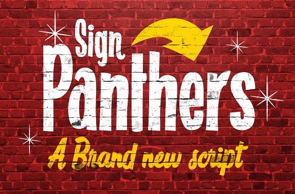 sign-panters-script-font