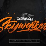 Skywalker Brush Font Free