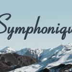 Symphonique Script Font Free
