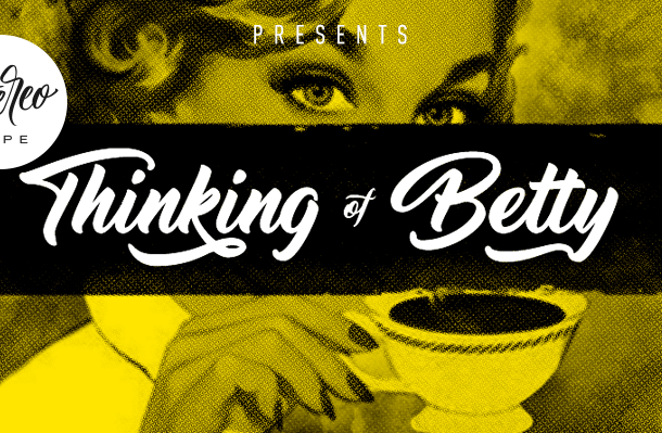 Thinking Of Betty Font Free