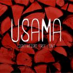 UsamaLight Font Free