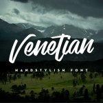 Venetian Handstylish Font Free