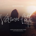 Verona Lotte Script Font Free
