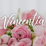 Vincentia Handstylish Font Free