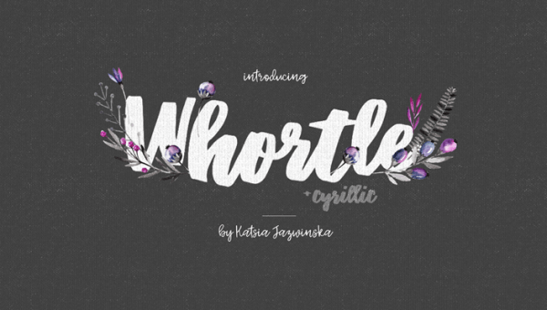 Whortle Font Free