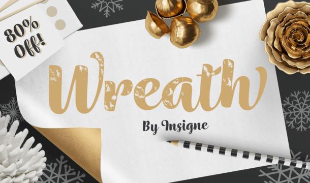 Wreath Font Family Free