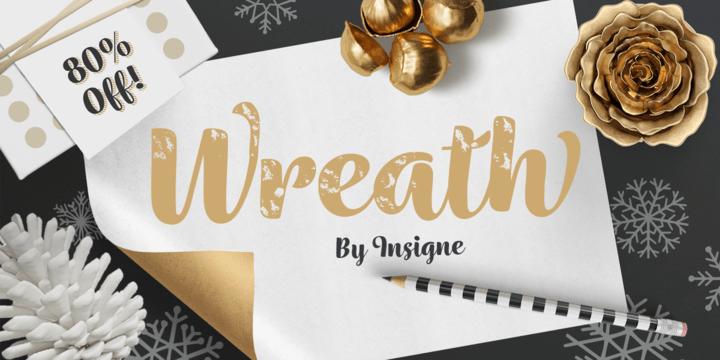 wreath-font-family