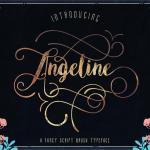 Angeline Vintage Font Free