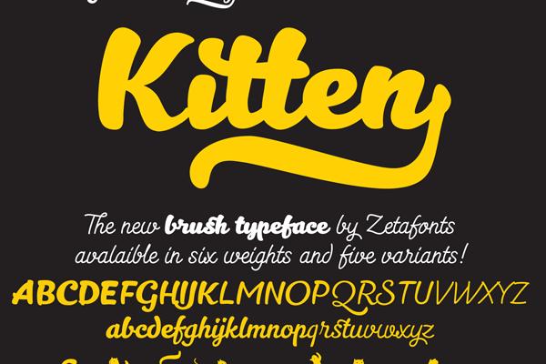 Kitten Typeface Free