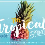 The Tropical Script Font Free