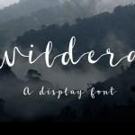Wildera Font Free