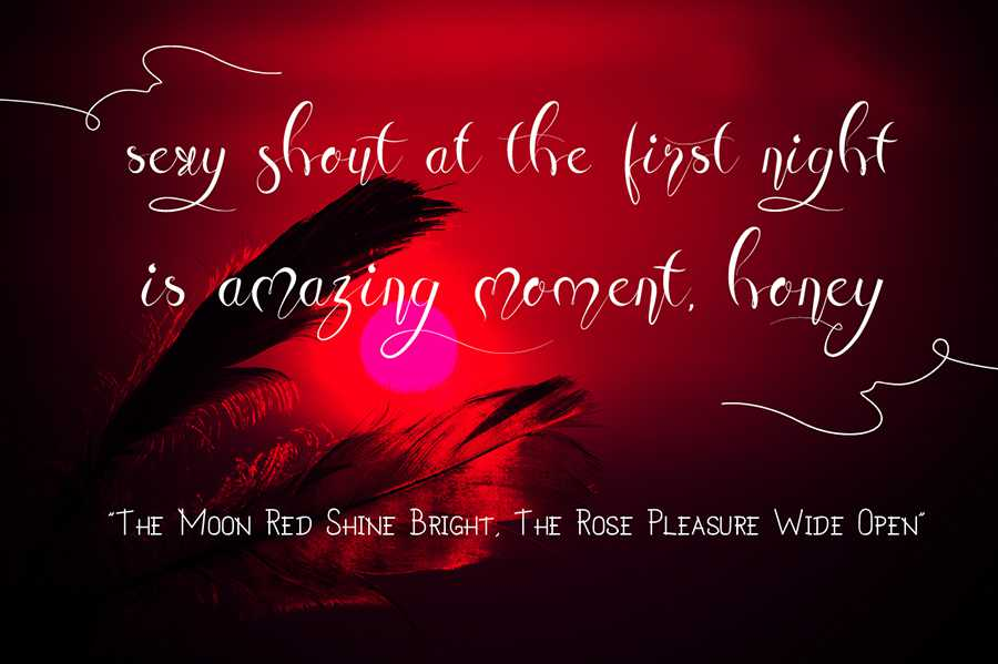 07_Honey-Moon-Midnight-free-font