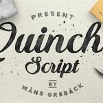 Quincho Script Font Free