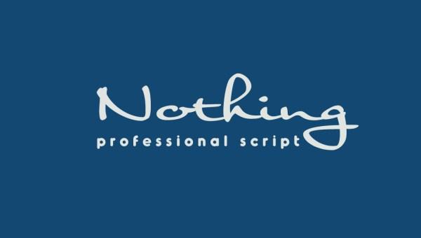 Nothing Font Free