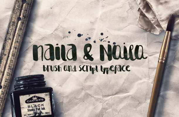 Naila Script Typeface Free