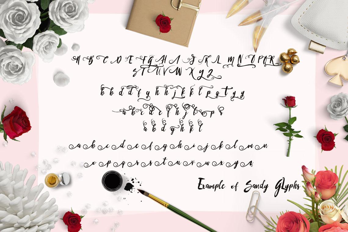 sandy-glyphs