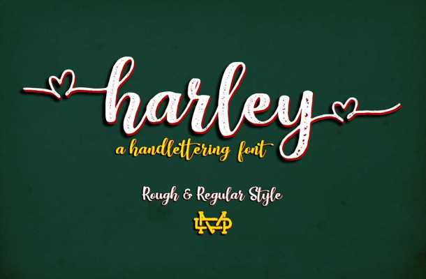 Harley Script Font Free
