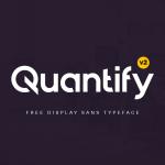Quantify v2 Typeface