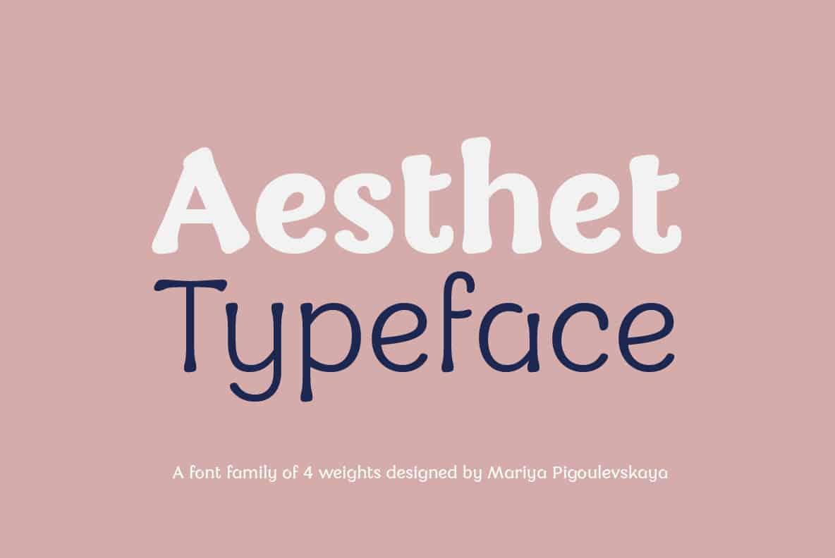 aesthet-font-family