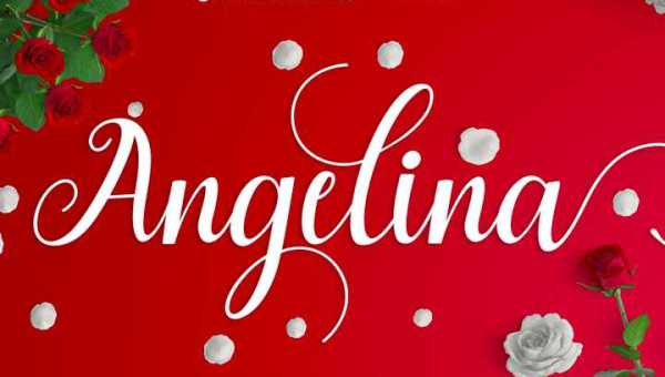 Angelina Script Font Free