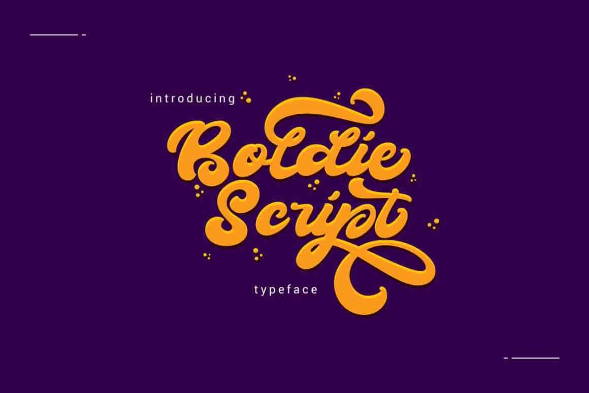 boldie-script-font