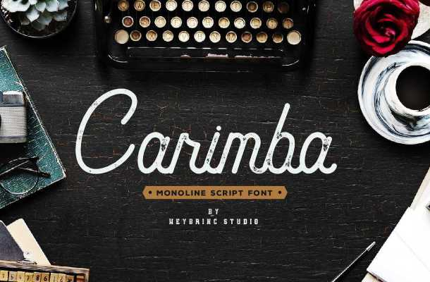 Carimba Script Font Free
