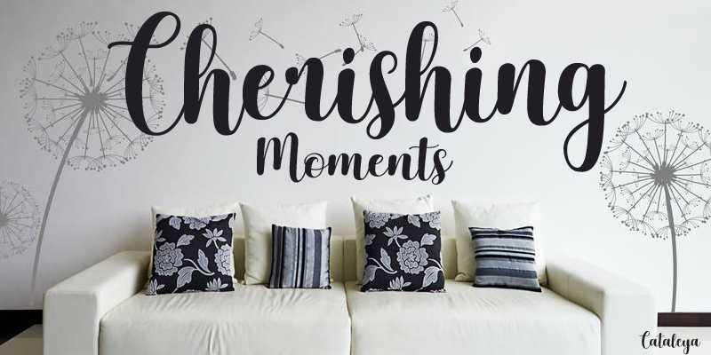 Cherishing Moments Font Free Download - Dafont Free