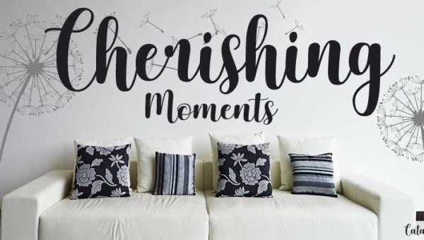 Cherishing Moments Font Free Download