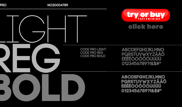 Code Font Family Free Download