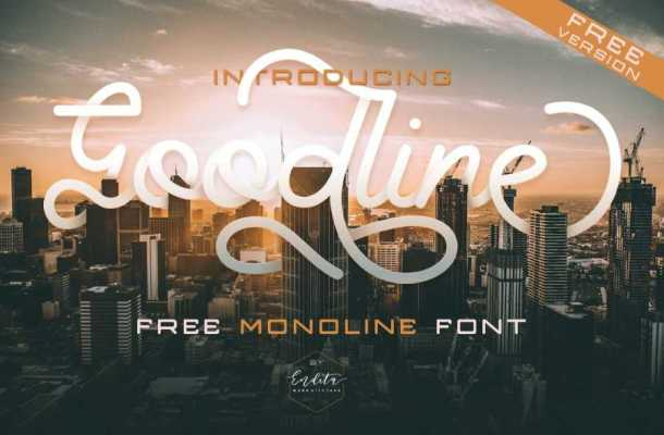 Goodline Font Free