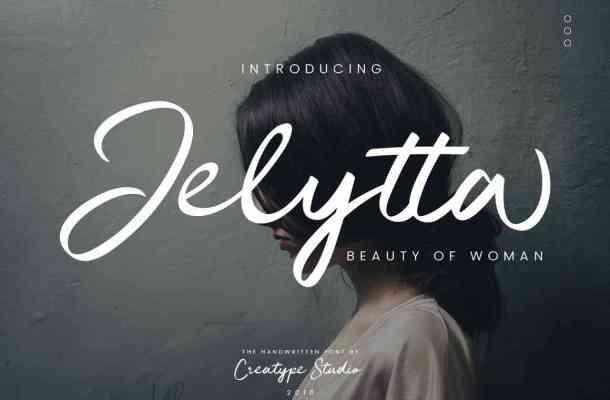 Jelytta Handwritten Font Free Download
