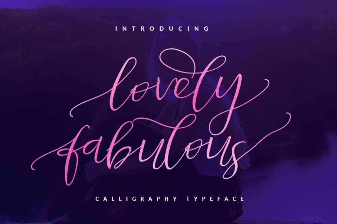 lovely-fabulous-script-font