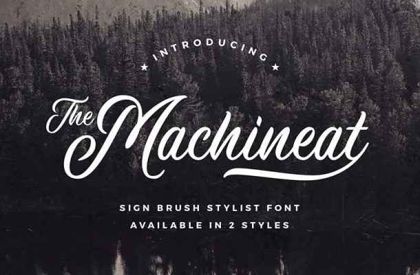Machineat Font Free Download