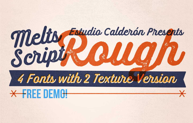 melts-script-rough-font-family