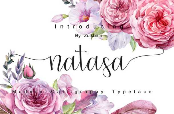 Natasa Font Free Download