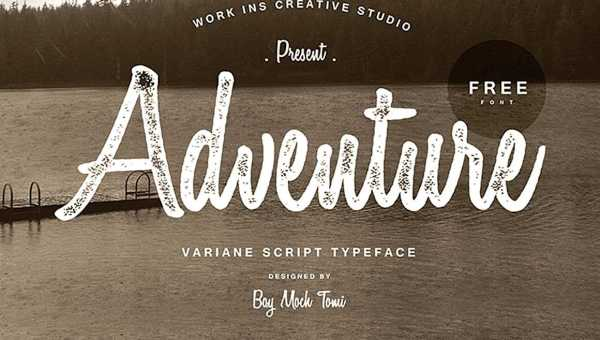 Variane Script Font Free
