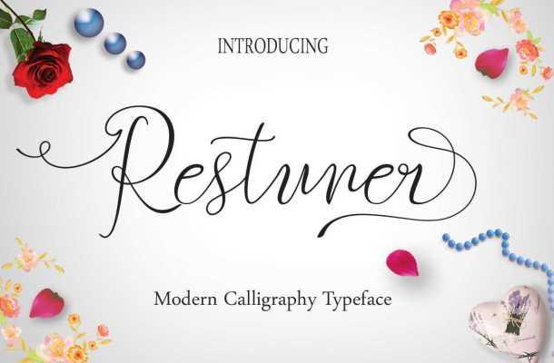 Restuner Script Font Free
