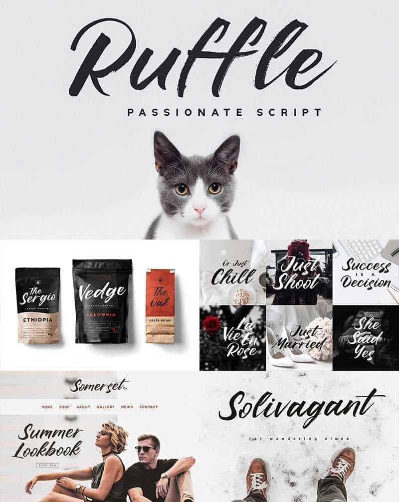 ruffle-brush-font