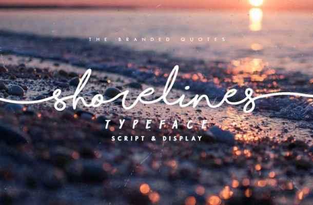 Shorelines Script Font Free Download