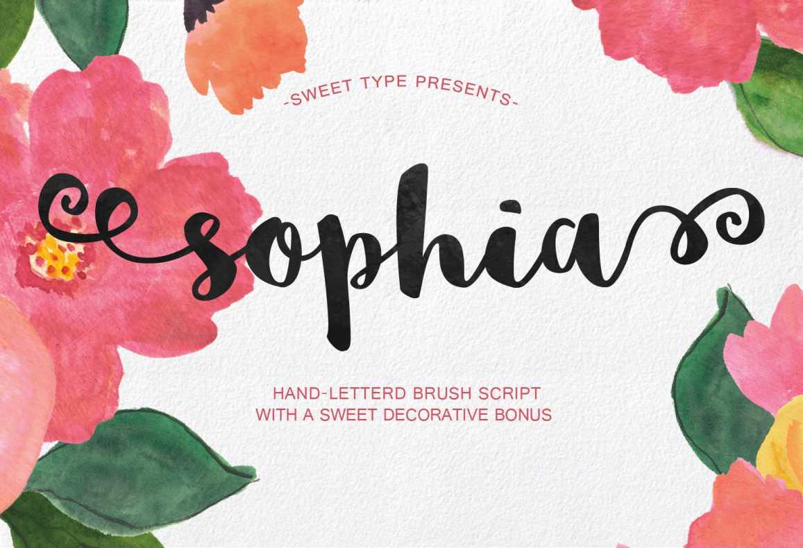 sophia-font